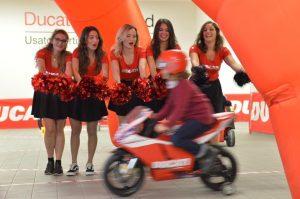 cheerleaders roma ducati moto
