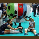 ITALIA-AZERBAIJAN  EUROPEI FEMMINILI 2011 VOLLEY